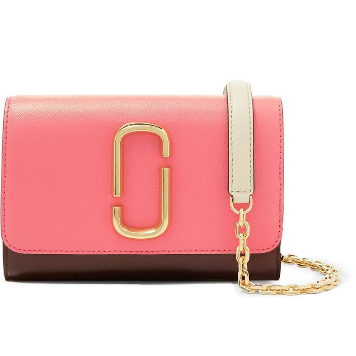 This colorful shoulder bag definitely makes the world a