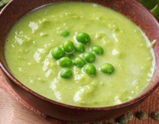 Ekspresowa zupa-krem z groszku