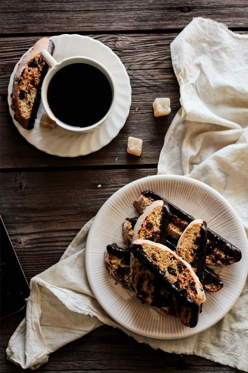 ... Biscotti on Pinterest | Chocolate toffee, Chocolate chips and Almonds