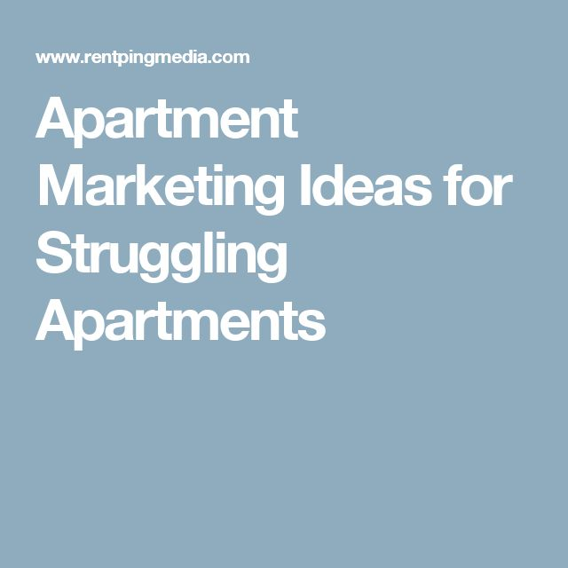 What Is A Good Way To Find Apartments For Rent With: 17 Best Images About Apartment Marketing Ideas On