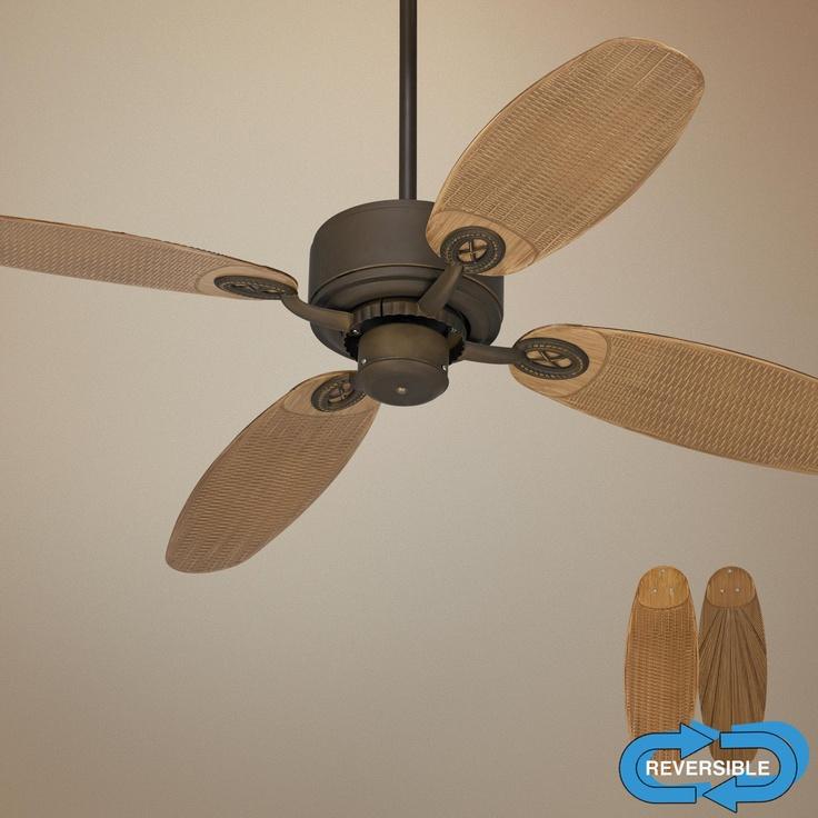 Bronze Havana Abs Blade Tropical Indoor Outdoor Ceiling: 40 Best Ceiling Fans Images On Pinterest