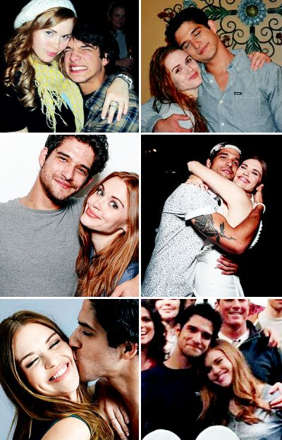 Holland Roden and Tyler Posey - Teen Wolf seasons 1-6