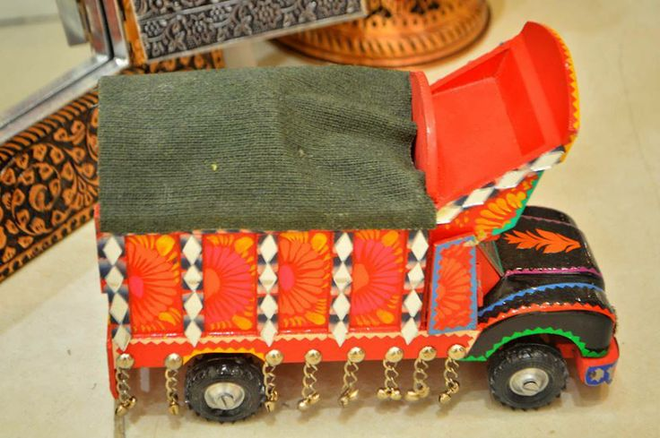 traditional truk made in hunza