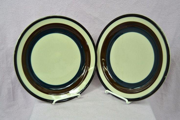 Set of 2 Arabia of Finland Kaira Dinner Plates Scandinavian Dishwasher Proof #Arabia