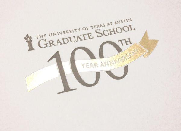 100th Year Anniversary Logo by Maggie Sanchez, via Behance