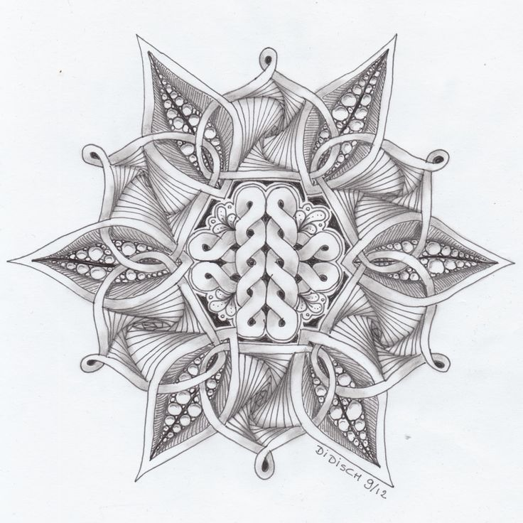 73 Best Zentangle Drawings Images On Pinterest