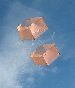How To Make A Box Kite - Complete Instructions For The MBK 1-Skewer Box Kite.