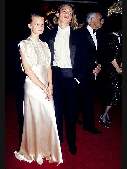 Vintage Oscar Photos | FAST TIMES | At his first and only Oscars, Best Supporting Actor nominee (for Running on Empty) River Phoenix, who died four years later, attends the show in 1989 with girlfriend Martha Plimpton.