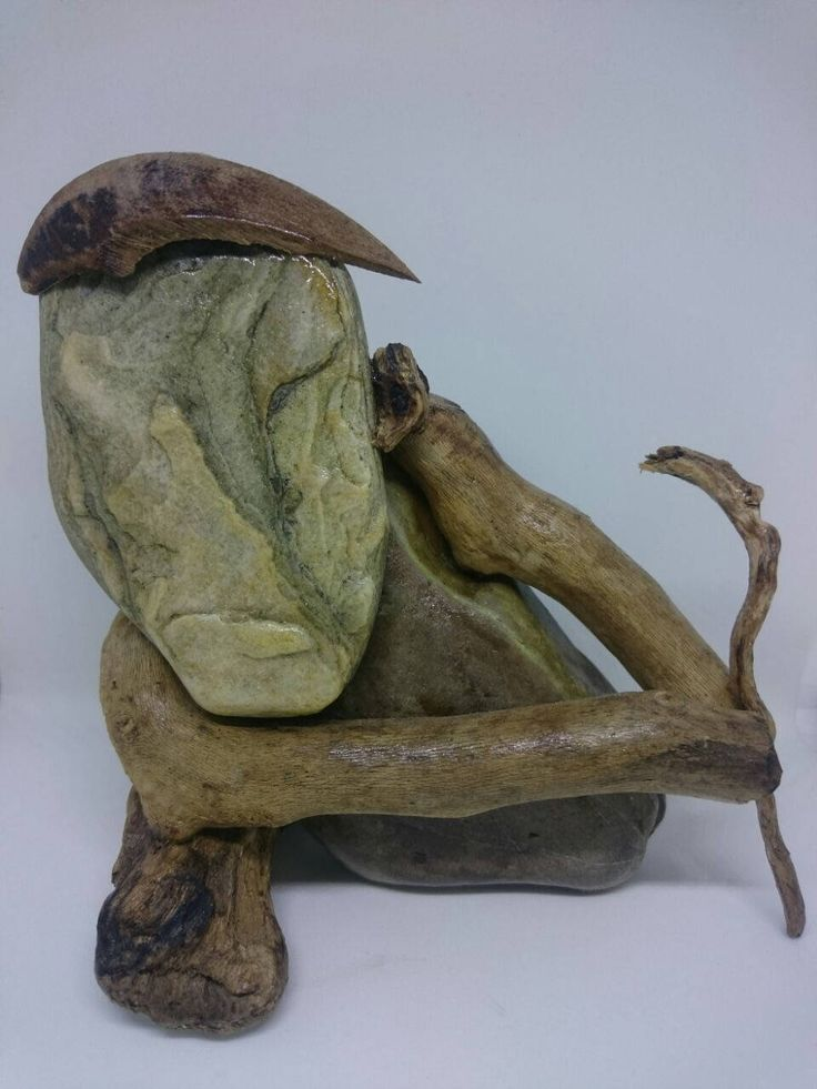 Excited to share the latest addition to my #etsy shop: THE OLD SHEPHERD Stone and driftwood art http://etsy.me/2DFzTGm #art #sculpture #shepherd #mountains #naturalmaterials #stone #driftwood #uniqueitem #face