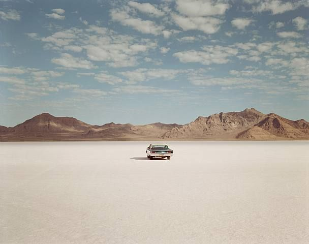 Richard Misrach: Chrysler Newport, Bonneville Salt Flats, Utah 1992