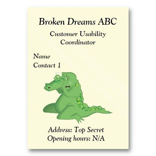 Customer Usability Coordinator Business Card #businesscards