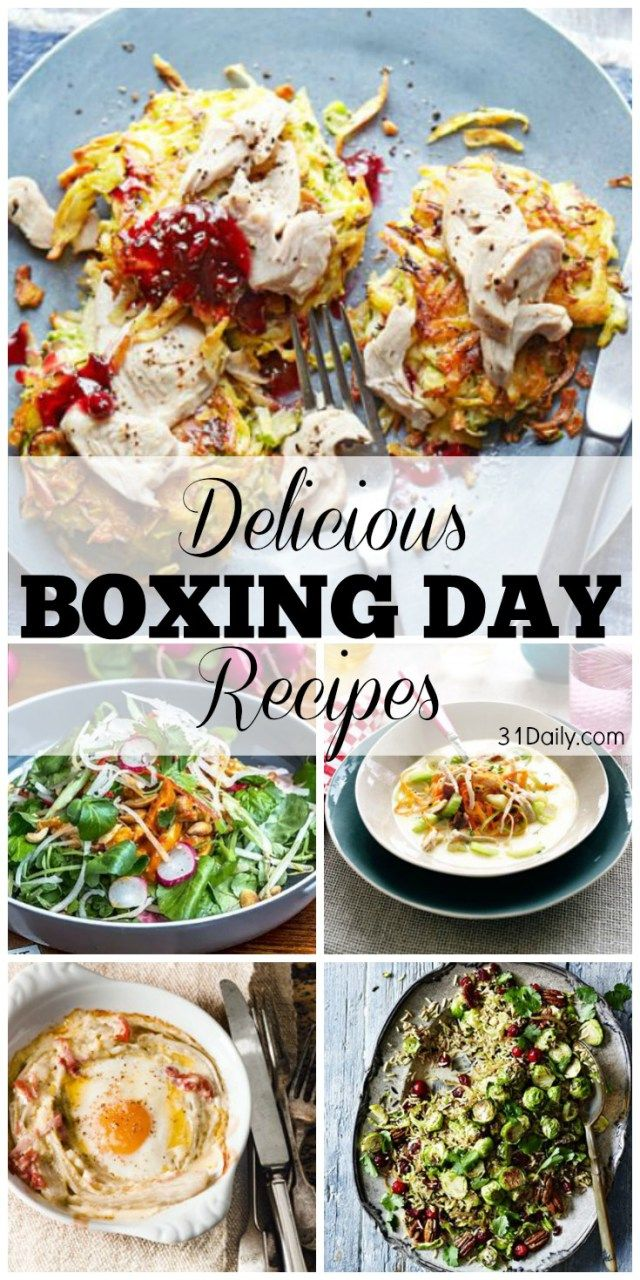 Boxing Day Customs and Delicious Leftover Recipes | 31Daily.com