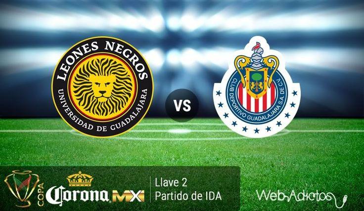 Leones Negros UDG vs Chivas, Copa MX C2016 ¡En vivo por internet! - https://webadictos.com/2016/02/03/leones-negros-udg-vs-chivas-copa-mx-c2016/?utm_source=PN&utm_medium=Pinterest&utm_campaign=PN%2Bposts