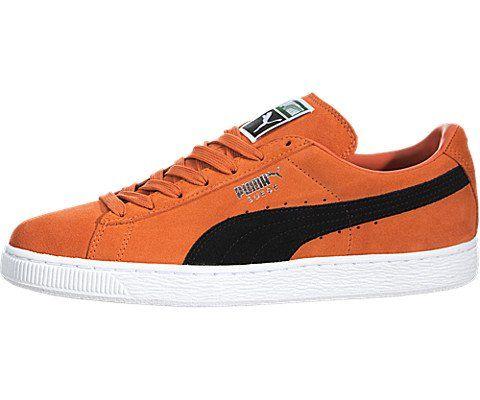 puma suede men orange