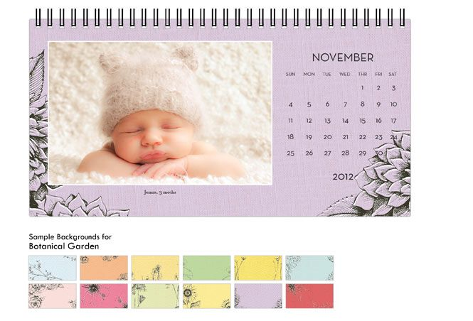 Shutterfly | Calendars botanical