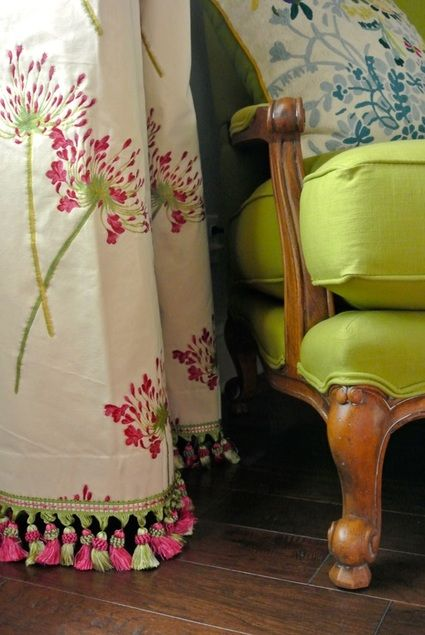the redesign company window treatments - an easy solution to too short curtains