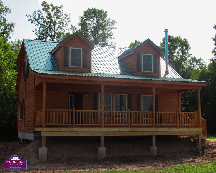 The Keuka U2013 Prefab Cabins And Modular Log Homes   Wood Tex Products |  Favorite Places U0026 Spaces | Pinterest | Prefab Cabins, Modular Log Homes And  Prefab