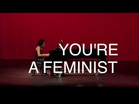 Songwriter Schools Lady Gaga and Other Stars Who Say They're Not Feminists   TakePart