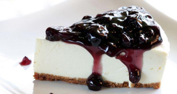 Blueberry Cheesecake, Un Desert Simplu Și Ușor Preparat La Rece