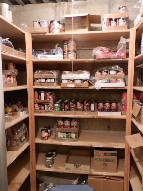 Pictures of a Food Storage Room