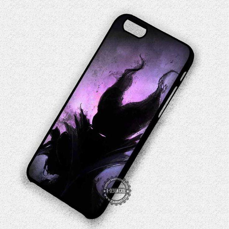 Silhouette Maleficent - iPhone 7 6 Plus 5c 5s SE Cases & Covers
