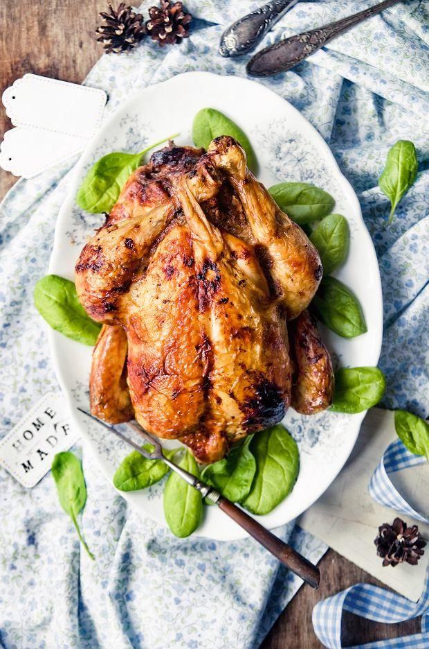 Kurczak nadziewany mielonym mięsem z orzechami