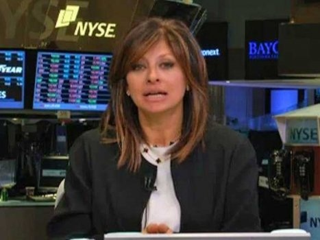 """CNBC's Maria Bartiromo's New Year's Resolution: """"I start emailing like a guy"""". More here: http://www.businessinsider.com/maria-bartiromo-emails-like-a-man-2013-2# #MariaBartiromo"""