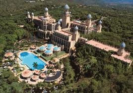 The Palace of the Lost City , Sun City, South Africa - this was a very strange place to visit. still very much a white destination