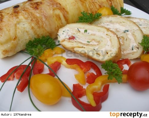 Pečená sýrová roláda