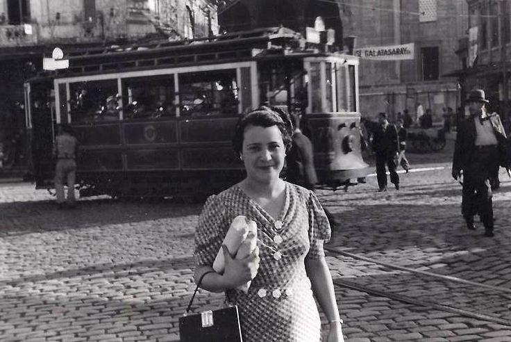 1938...İstanbul sokaklarından portreler