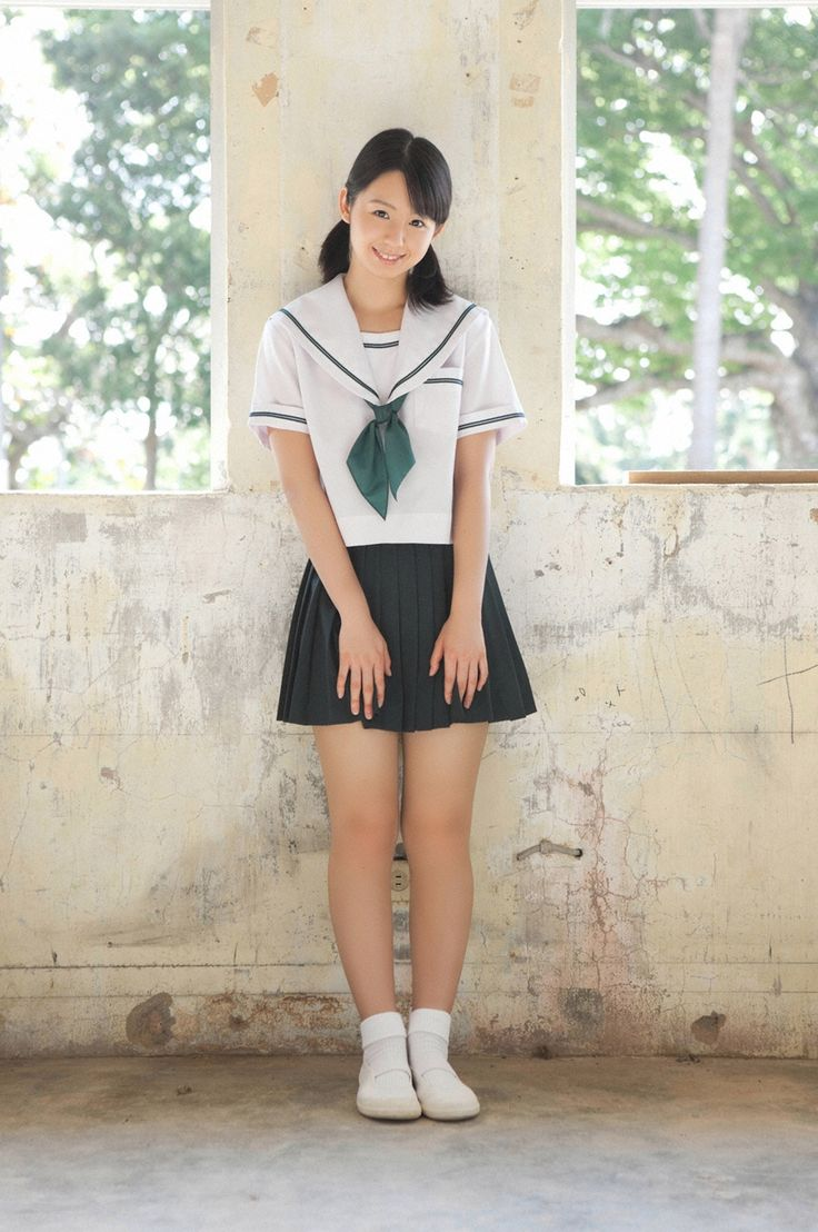 Japanese Schoolgirl  Schoolgirls  School Uniform Girls -5376
