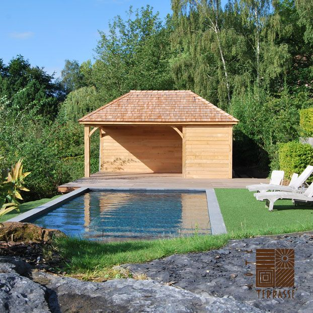 25 best piscines images on Pinterest Houses with pools, Pool - maison brique rouge nord