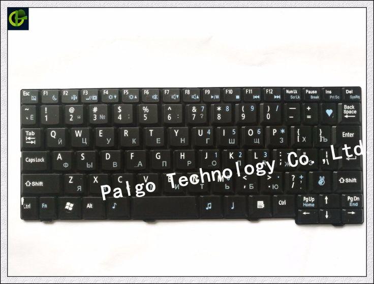 Russian Keyboard for Acer Aspire One ZG6 ZG6X KAV10  531H P531 531 571 Gateway LT00 LT000 RU Black NSK-AJJ0R  keyboard