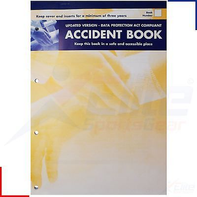#Accident report book a4 #sheet #injury log data protection act 1998,  View more on the LINK: 	http://www.zeppy.io/product/gb/2/301979181444/