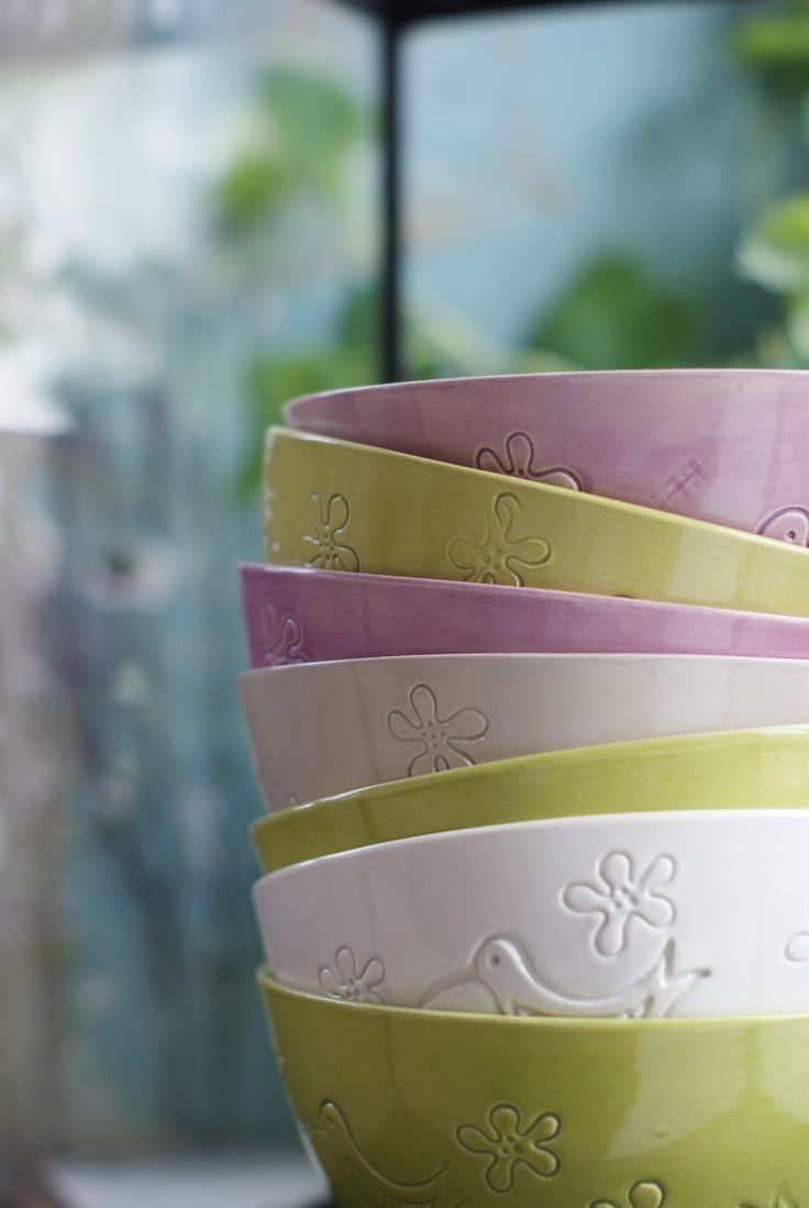 Colorful bowls from our Home Collection