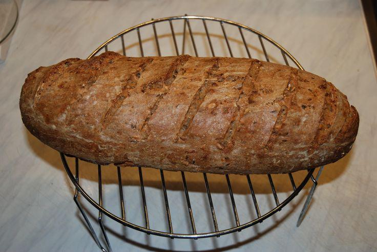 celozrnný chléb kváskový 24.4.2015