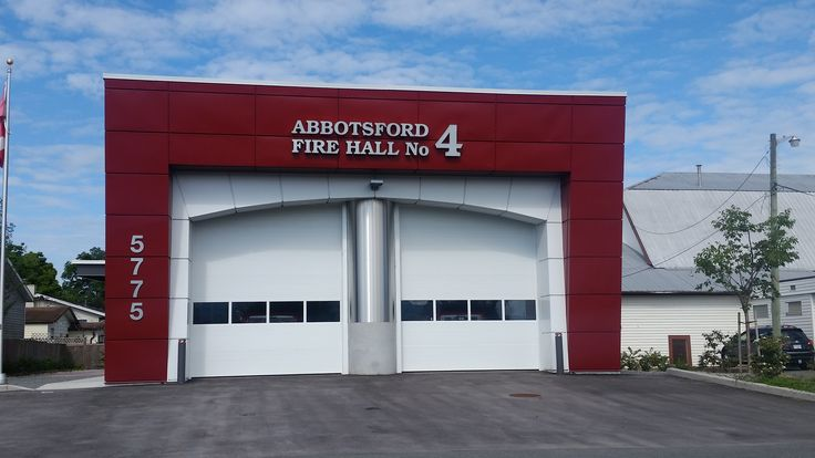 Fire Hall #4 Matsqui Village Located at: 5775 Wallace Street Abbotsford British Columbia