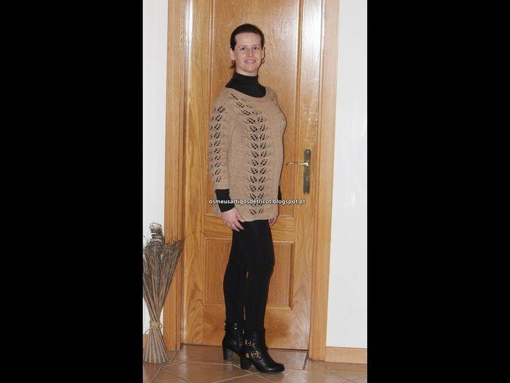 Os meus artigos de tricot: As 18 semanas de gravidez e o tricot