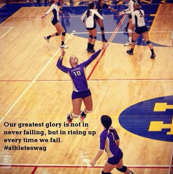 Motivational quote of the day - Athlete Swag's Photos - LockerDome. Volleyball is my passion!!!!