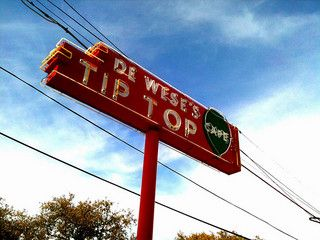 Diners, Drive-ins and Dives visited Tip Top Cafe - San Antonio, Texas   Diners Drive-ins and Dives