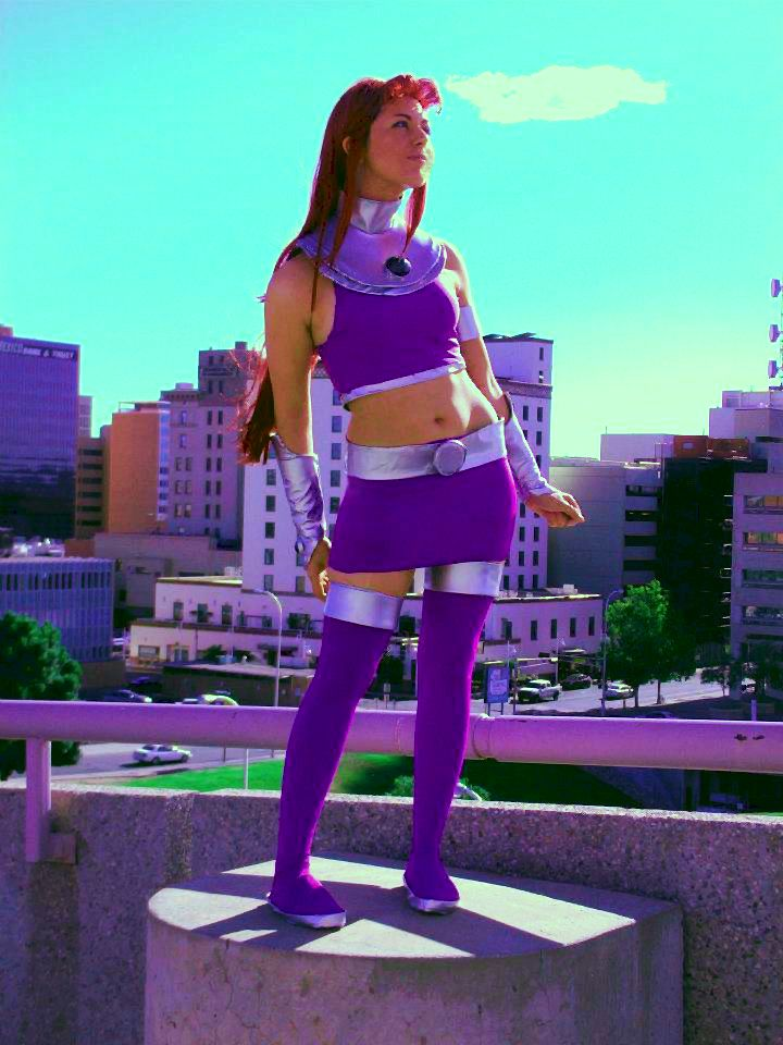 Starfire By Morisa9 On Deviantart  Cool Cosplay And -6181