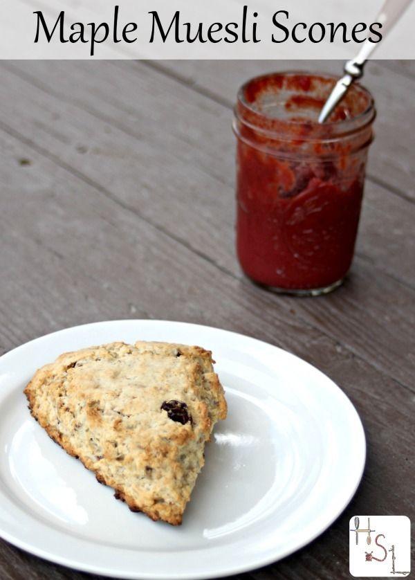 Maple Muesli Scones | Recipe | Hearty breakfasts, Breakfast and Full ...