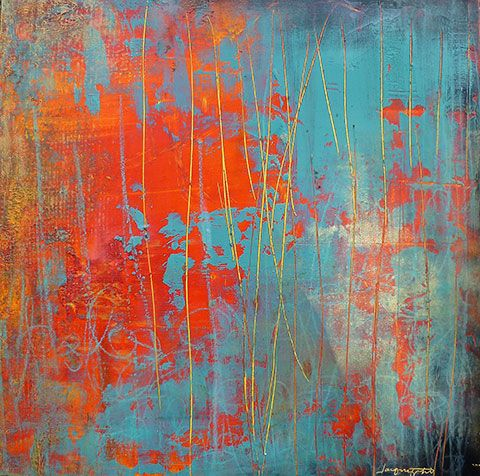 The Fury by Jacqui Fehl ~ love these colours!
