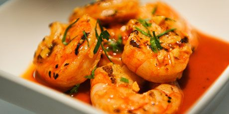 Garlicky Paprika Shrimp