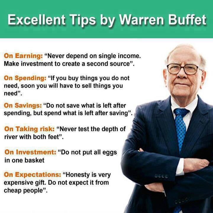 We quote Warren Buffet far too often to pass up this pin. #business #quotes