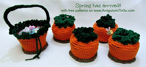 Ravelry: Carrot Top Pouch To Basket pattern by Sharon Ojala