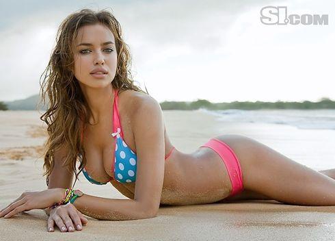 Irina Shayk, de vriendin van Christiano Ronaldo