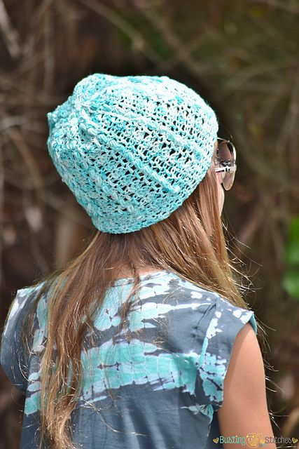 Ravelry: Blue Robin Slouch Hat pattern by Stacey Williams