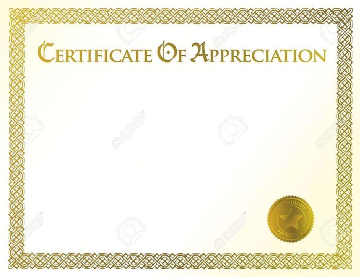 Mer enn 25 bra ideer om Blank certificate template på Pinterest - blank certificate