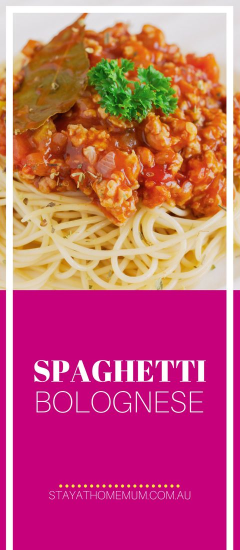 SpaghettiBologneseis a frugal and easy meal to make for the hungry hoards. I love it that all my family love it and I neverhear complaints!